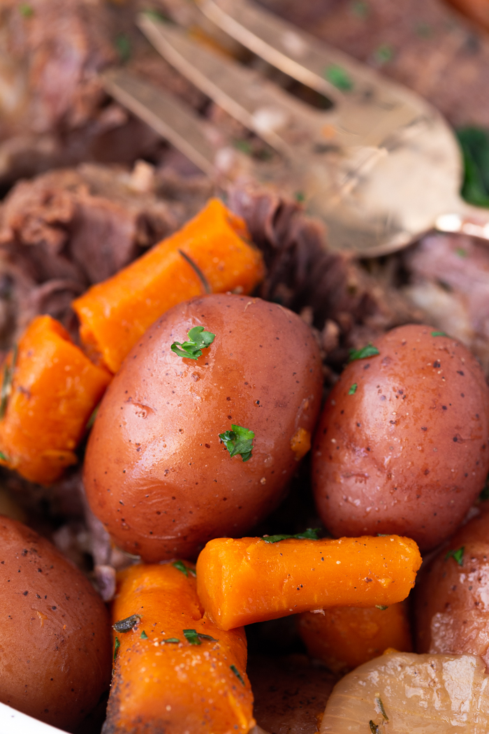 How to cook your potatoes and carrots in the instant pot.