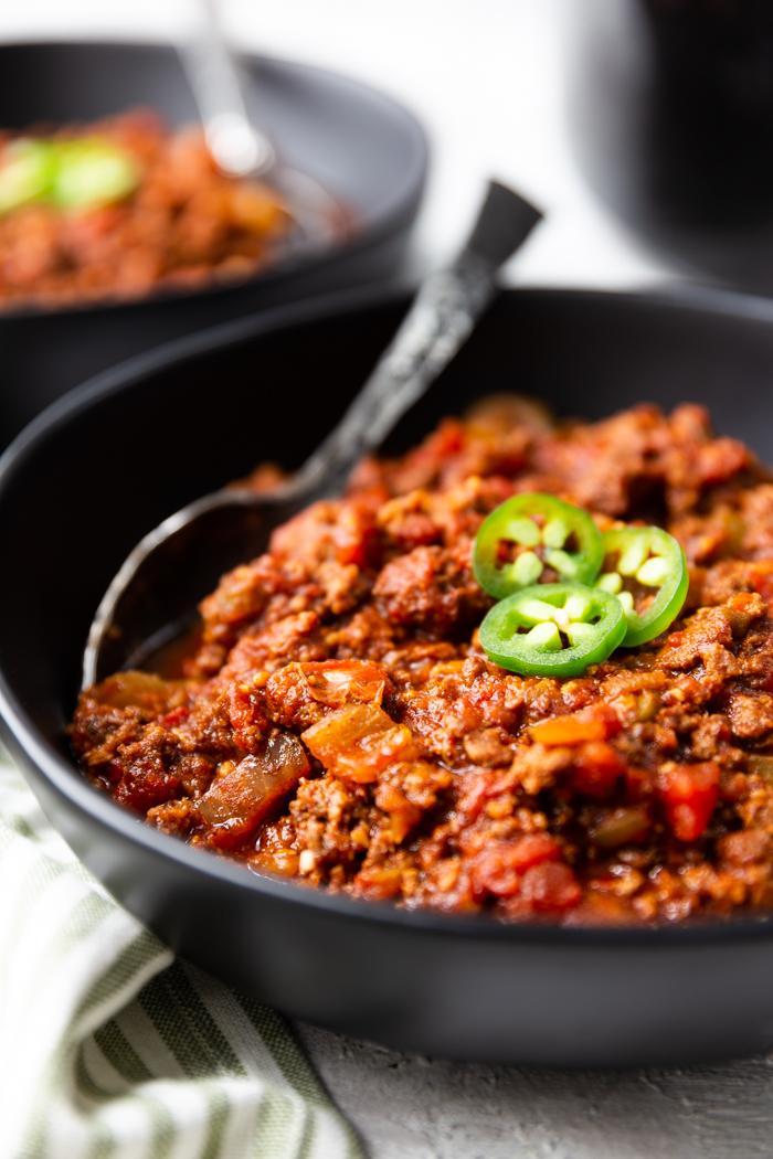 Keto Chili Crock Pot Easy Peasy Meals
