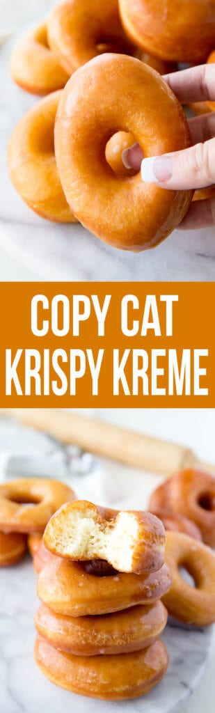 Copy Cat Krispy Kreme Doughnuts you can make with ingredients you likely already have