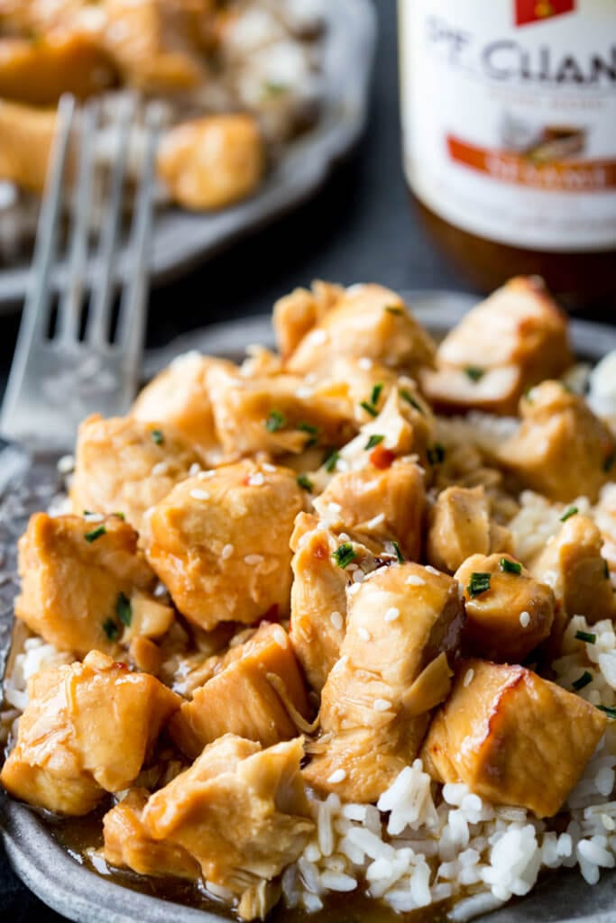 Kung Pao Chicken prssure cooker a quick and easy dinner idea