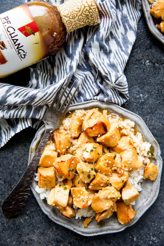Pressure Cooker Chicken Recipes: The easiest 20 minute Kung Pao Chicken ever! Busy nights call for flavorful solutions, and this is it.