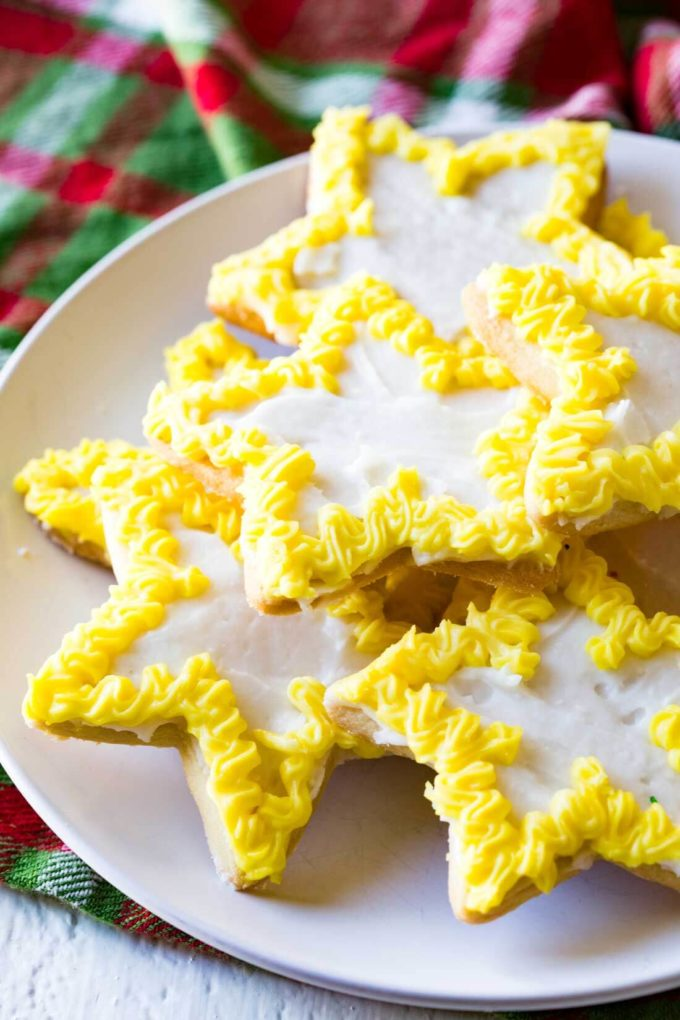 christmas sugar cookie recipe crispy edges sugary flavor and plenty of room for - Christmas Sugar Cookie Recipe