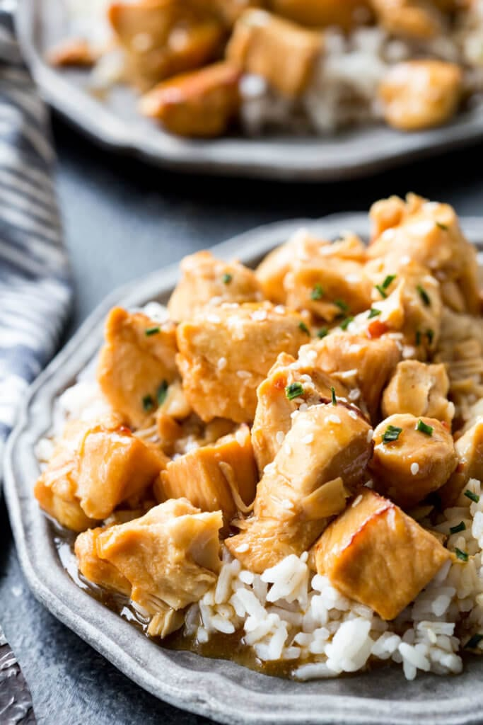 PF Changs Kung Pow Chicken: The easiest 20 minute Kung Pao Chicken ever! Busy nights call for flavorful solutions, and this is it.
