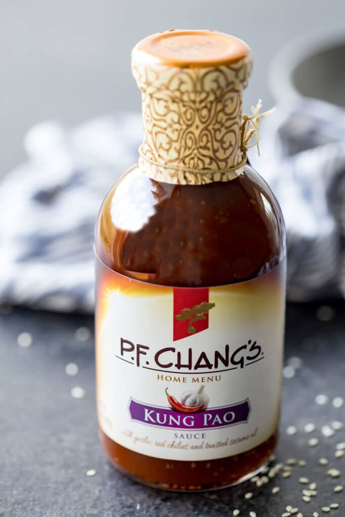 Easy Pressure Cooker Recipes: The easiest 20 minute Kung Pao Chicken ever! Busy nights call for flavorful solutions, and this is it.