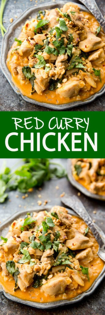 Red Curry Chicken is an easy and delicious dinner option!