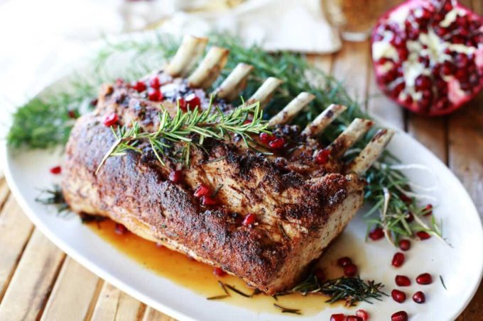 How to perfectly roast a rack of pork for a delicious holiday meal