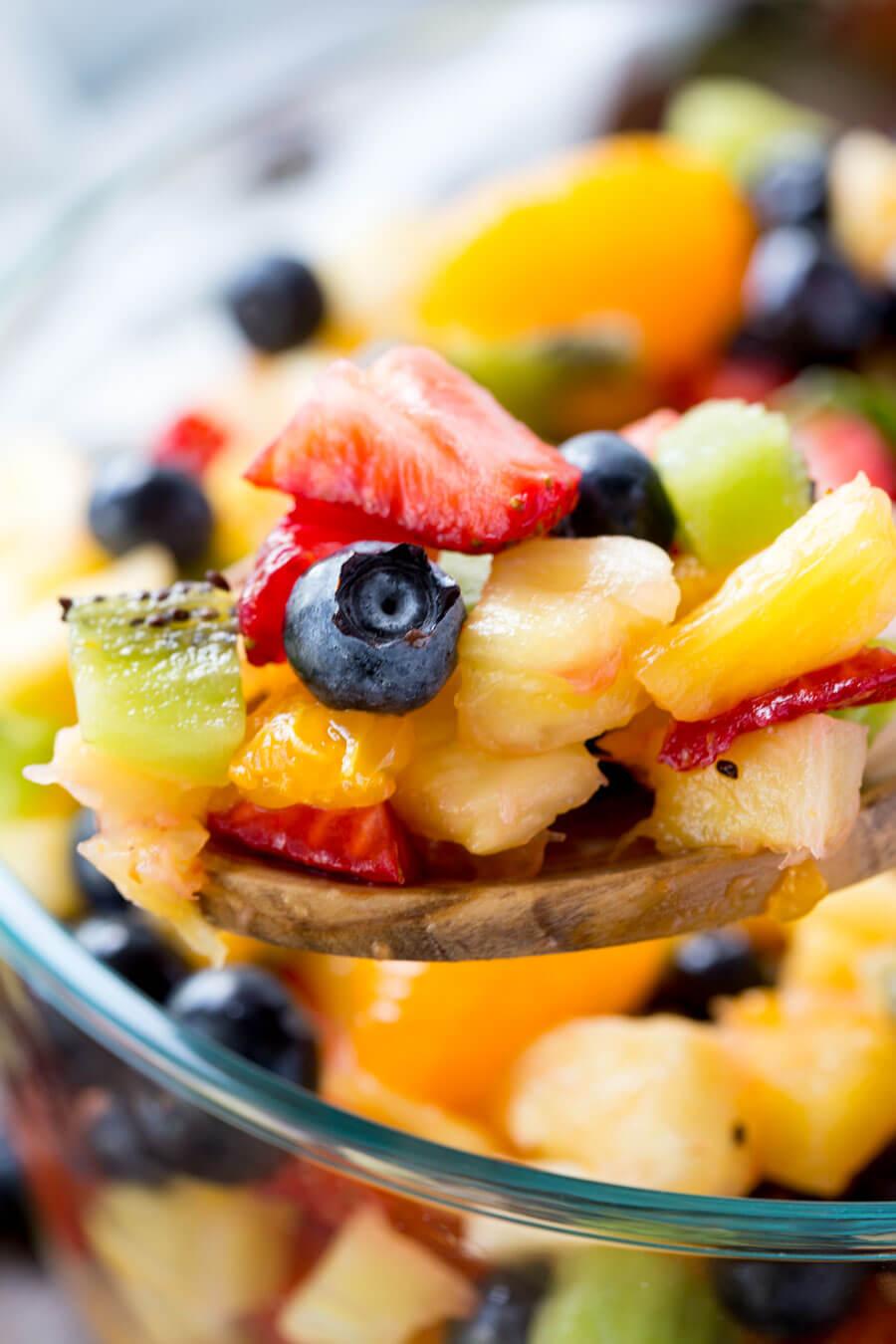 fruit pastilles summer fruit salad