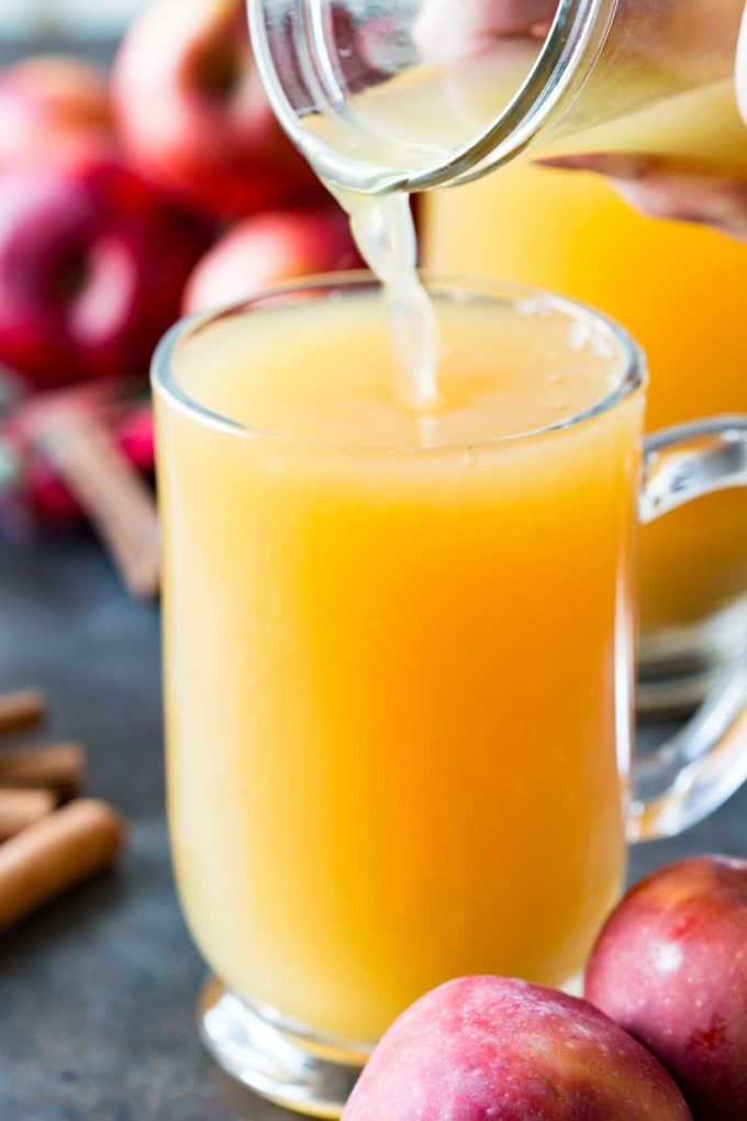 Wassail punch is a festive, flavorful holiday drink