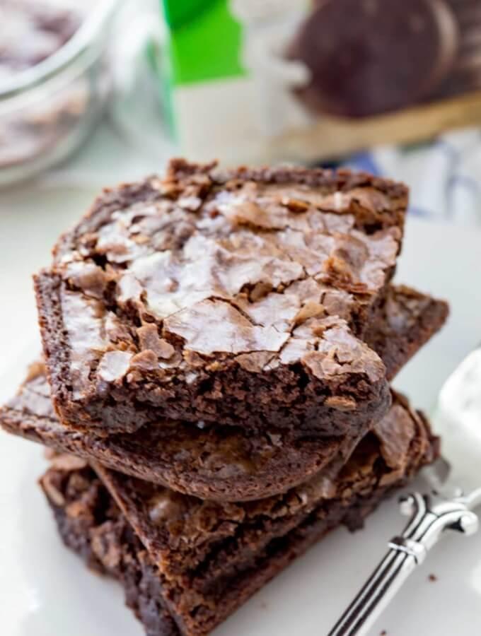 Thin Mints® Brownies