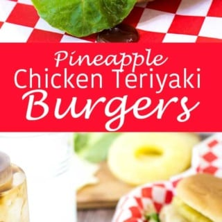 Grilled Pineapple Chicken Teriyaki Burgers