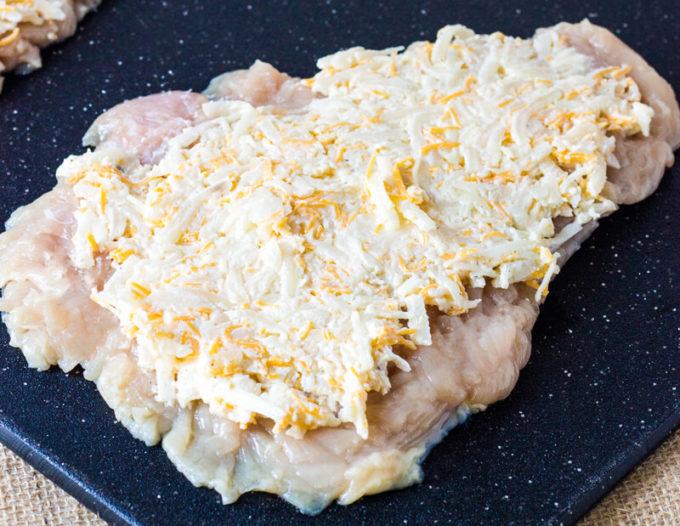 Cheesy Potato Stuffed Chicken Breasts