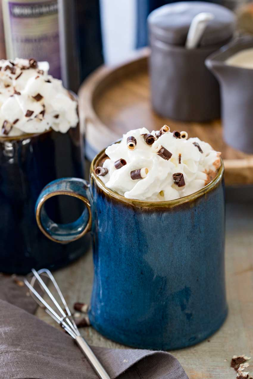 A rich and creamy chocolate hot drink!