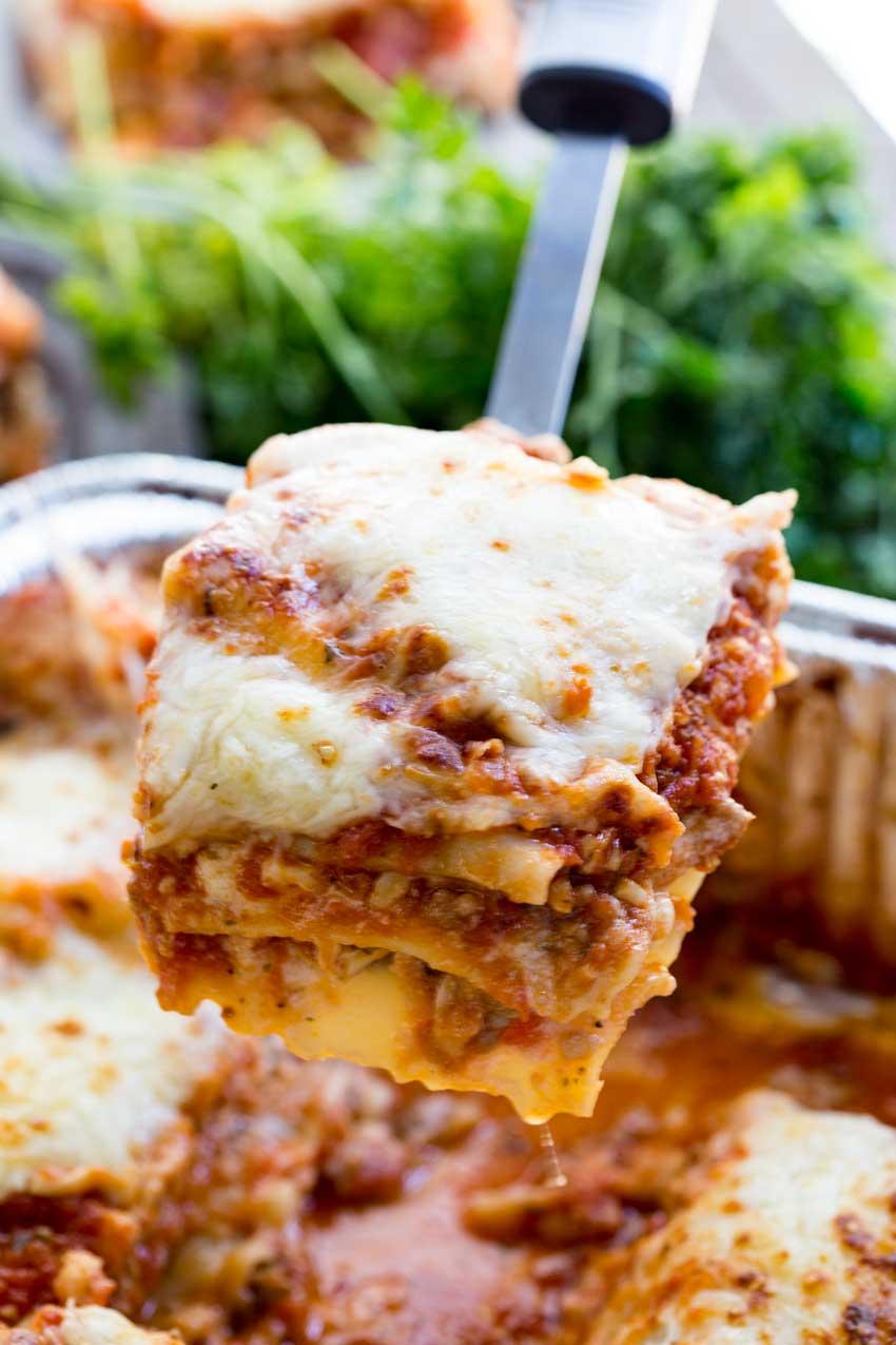 serves 9 traditional lasagna recipe traditional lasagna recipe with ...