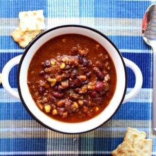 Slow-Cooker Southwestern Style Chili