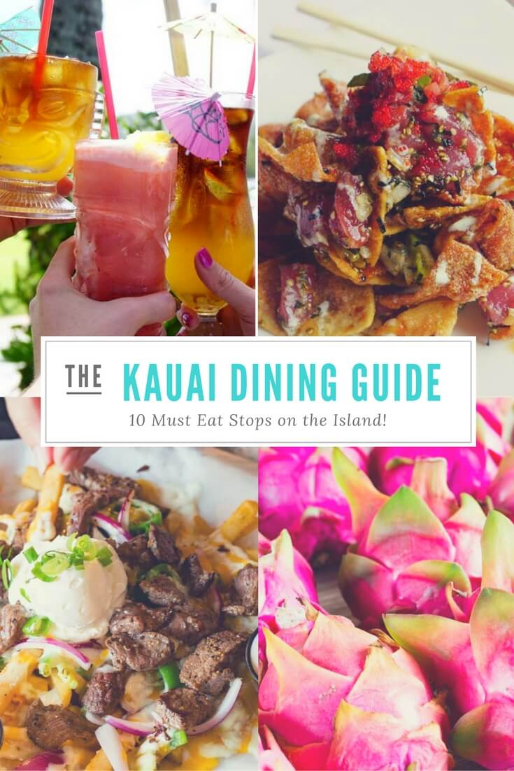 the kauai dining guide: 10 must eat stops on the island - easy peasy