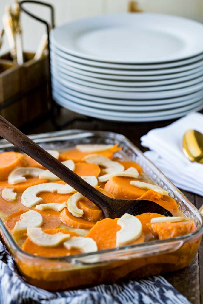 Easy and delicious Thanksgiving Yams that aren't overly sweet
