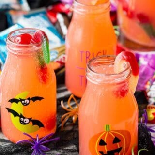 Witches brew sparkling cherry lemonade BOO Kit