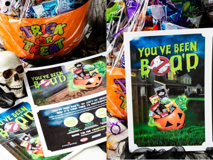 Boo Cards are a great way to make Halloween special and fun.