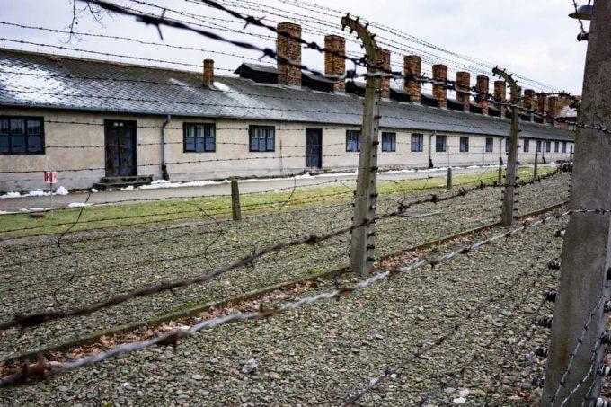 The prison camp Auschwitz in Poland