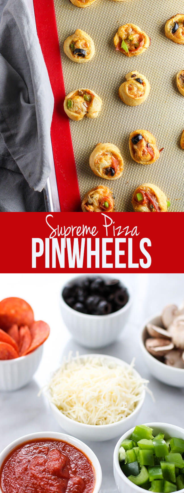 Pizza pinwheels, easy, tasty, and party perfect