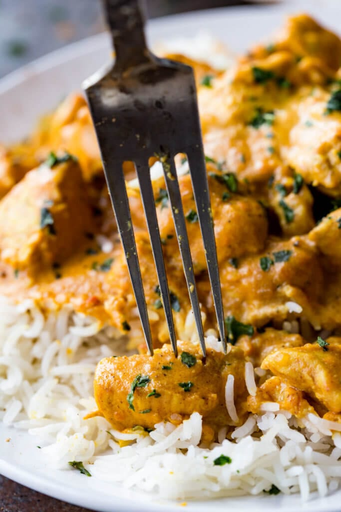 Indian Butter Chicken is richly flavored and delicious