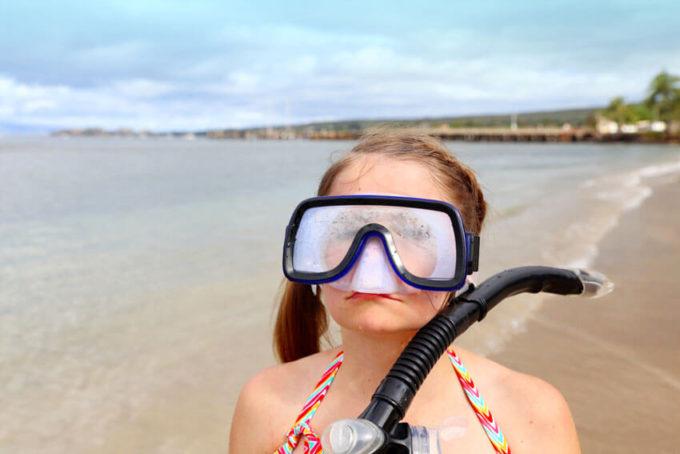 Maui Family Vacation Snorkeling at Baby Beach