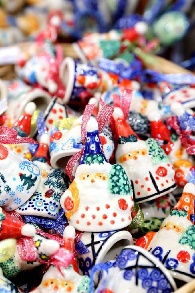 Ornaments found at the Christmas markets in Poland