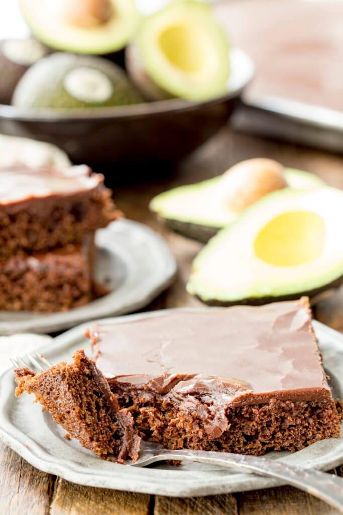 A slice of chocolate cake, a recipe for texas sheet cake