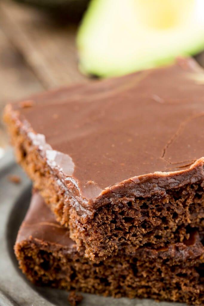 Texas Sheetcake with a surprising swap. healthier and super delicious