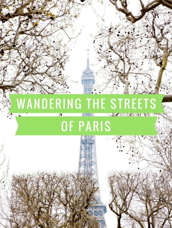 Wandering the Streets of Paris