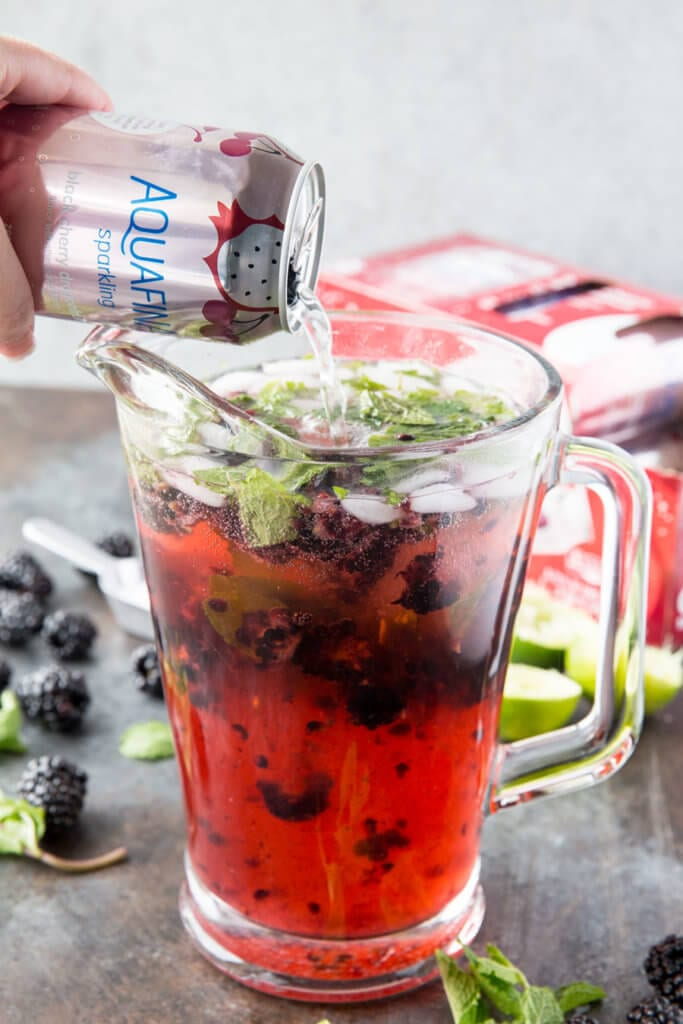 Delicious mocktail