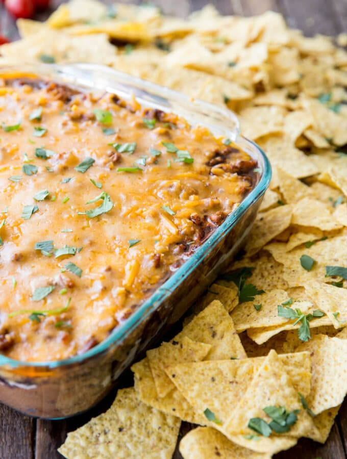 Best ever layered bean dip perfect for parties