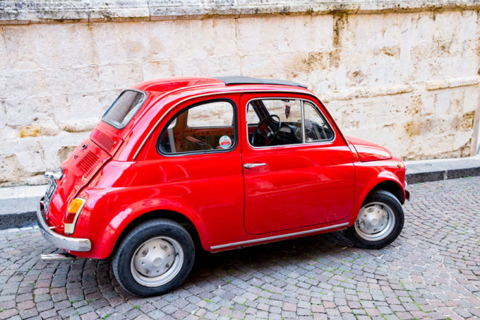 Choosing a car in Italy