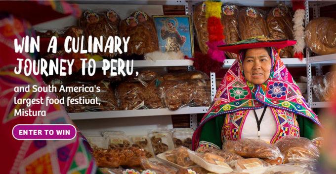 Pollo Saltado is a Peruvian dish, win a trip to Meet me at Mistura