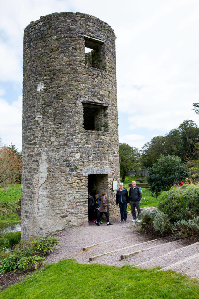 Blarney Castle Watch Tower in County Cork