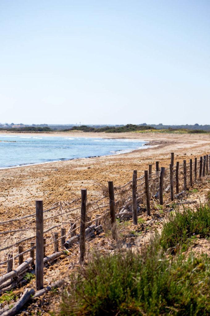 Vindicari beach