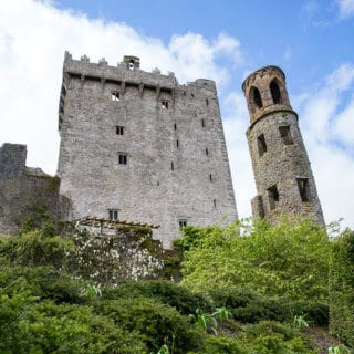 Blarney Castle, the historic, beautiful grounds of Blarney Castle county Cork