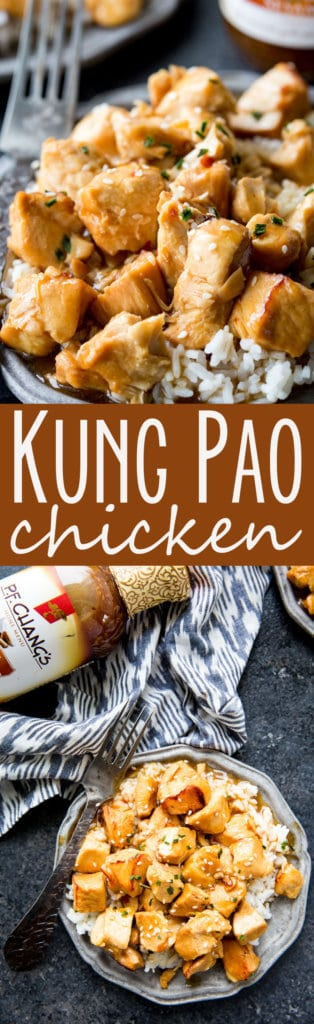 Instant Pot Kung Pao Chicken is a quick and easy dinner solution