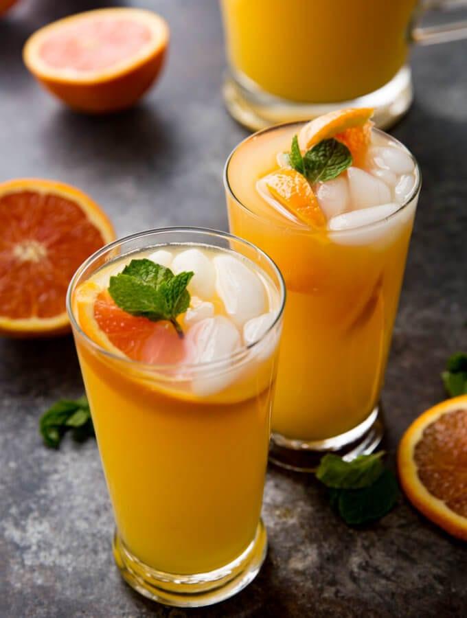 Mango Orange Mojito (Virgin)