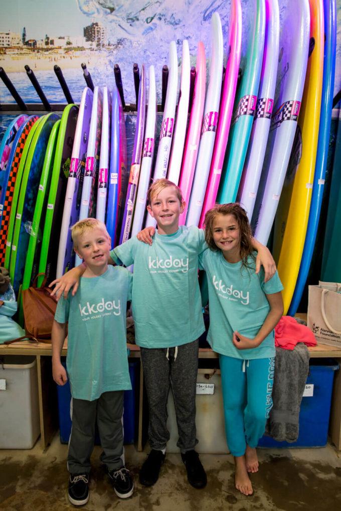 Surfing at Bondi with KK Day