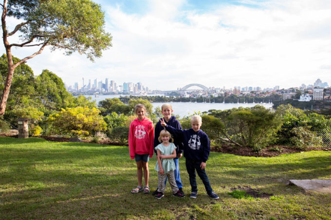 Taronga Zoo in Sydney Australia