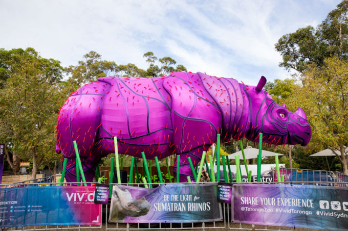 Taronga Zoo in Sydney Australia