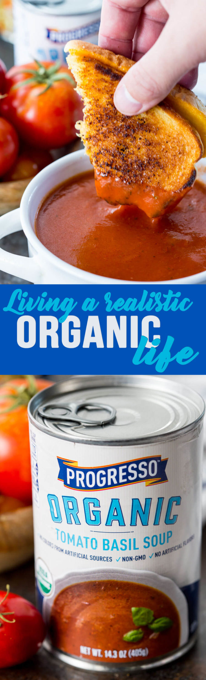 Eating organic in a realistic way, realistic organic lifestyle