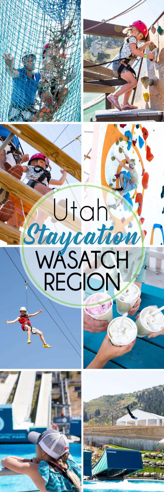 Utah Staycation wasatch region