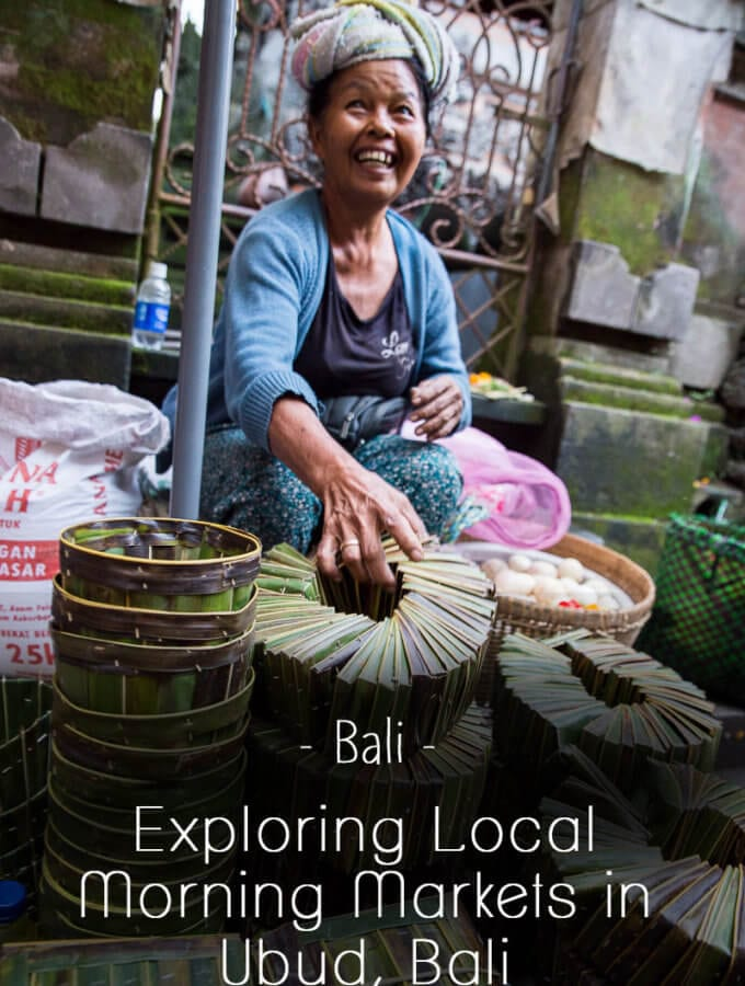 Exploring Local Morning Markets in Ubud, Bali