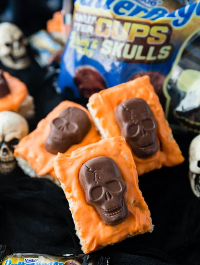 Halloween Crispy Cereal Treats