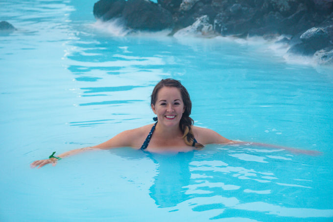Blue Lagoon soak in Iceland