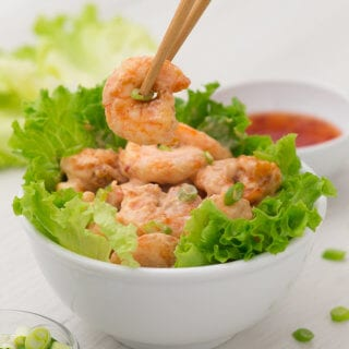 Bang bang shrimp is an easy and delicious shrimp dish with a creamy thai chili sauce