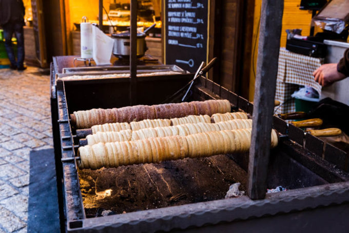 Chimney Cakes- An amazing Christmas market food that is delicious