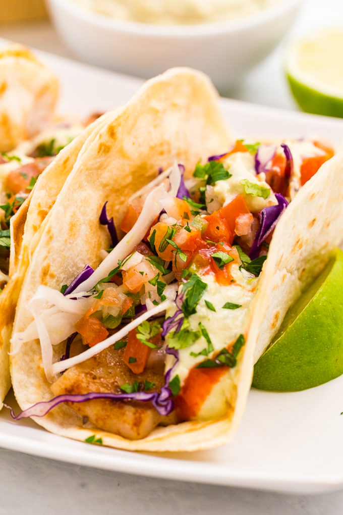 Baja fish tacos easy peasy meals for Making fish tacos